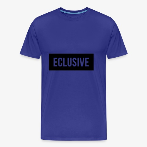 Exclusive Black Box Logo - Men's Premium T-Shirt