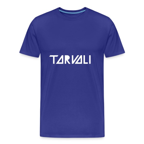 Tarvali White Logo - Men's Premium T-Shirt