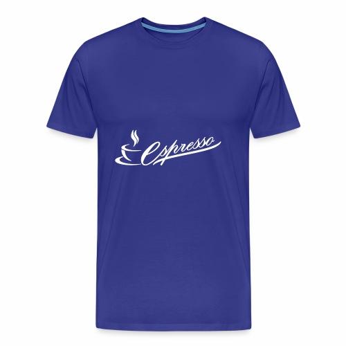 Espresso - Men's Premium T-Shirt