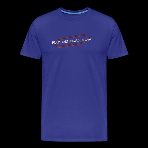 RadioBuzzD Shop Online Radio Station - Men's Premium T-Shirt