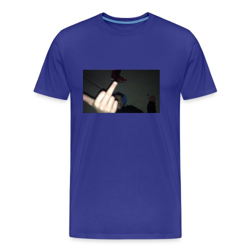 hoodlem giving the finger - Men's Premium T-Shirt