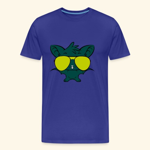 hip hop bats - Men's Premium T-Shirt