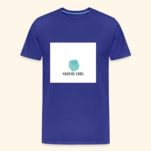 Wildface water color - Men's Premium T-Shirt
