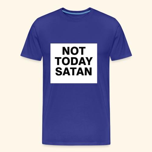 Big Block Not Today Satan Shirts - Men's Premium T-Shirt