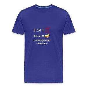 math - Men's Premium T-Shirt