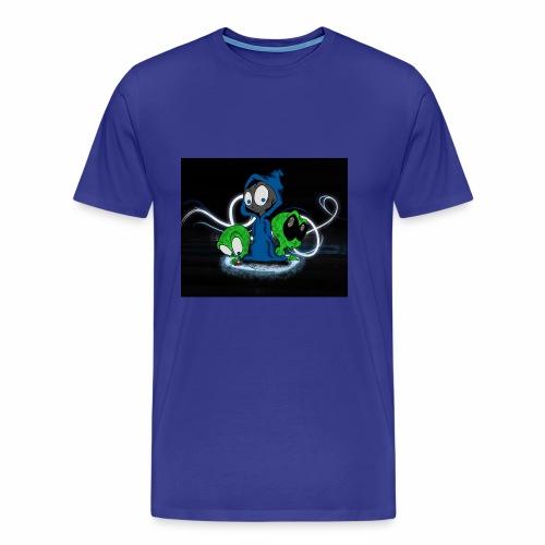 Alien Face - Men's Premium T-Shirt