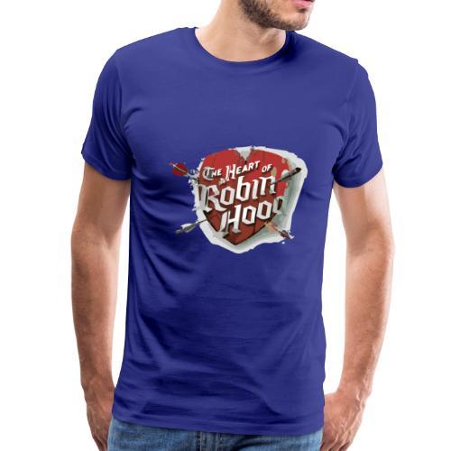 the heart of robin hood - Men's Premium T-Shirt