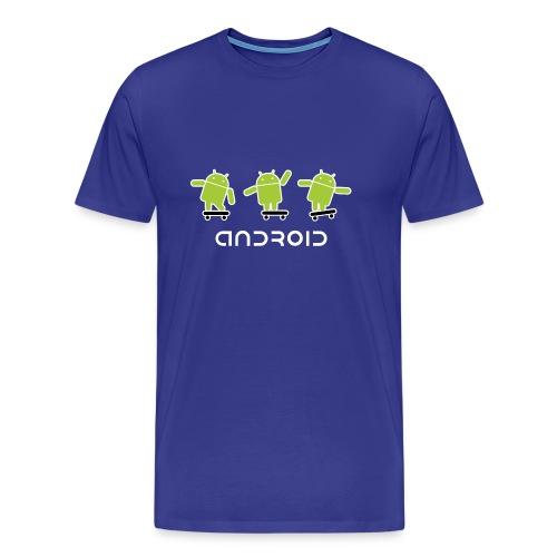 android logo T shirt - Men's Premium T-Shirt