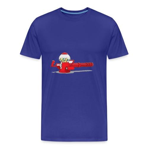 Gumball machine gun - Men's Premium T-Shirt