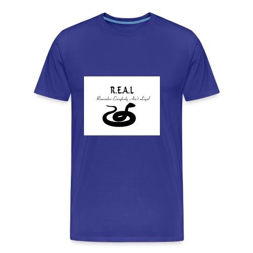 R.E.A.L Snake - Men's Premium T-Shirt