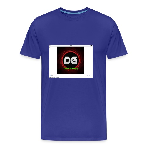 David hoddie - Men's Premium T-Shirt