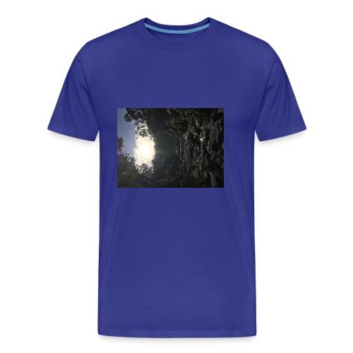 Glowing path - Men's Premium T-Shirt