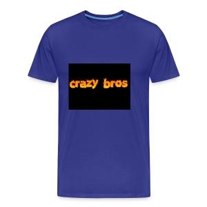 Crazy Bros logo - Men's Premium T-Shirt