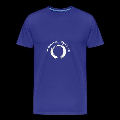 Enso Ring - Asana Spirit - Men's Premium T-Shirt