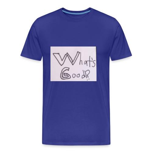 What's Good!? - Men's Premium T-Shirt