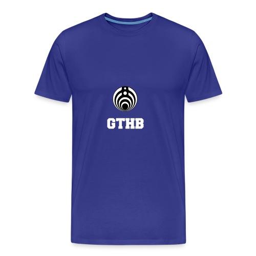 GTHB w/ LOGO - Men's Premium T-Shirt