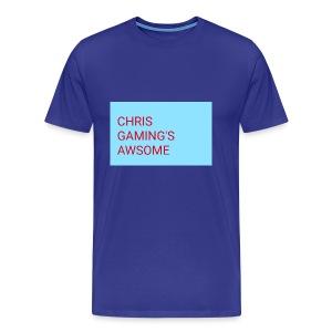 CHRIS GAMING'S AWSOME - Men's Premium T-Shirt