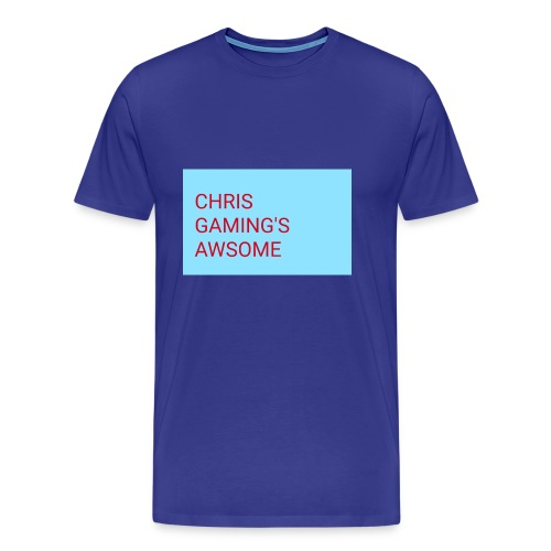 CHRIS GAMING'S AWSOME - Men's Premium T-Shirt