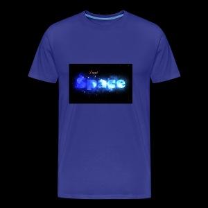 I need space - Men's Premium T-Shirt