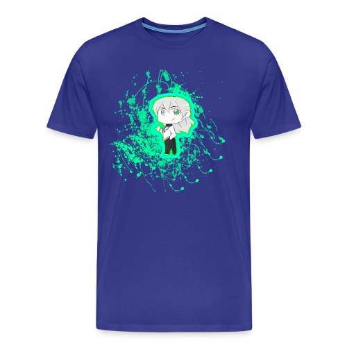 Chibi Nullify Paint Splatter - Men's Premium T-Shirt