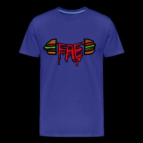 Fae logo - Burger - Men's Premium T-Shirt
