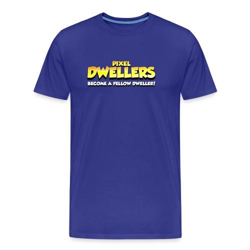 Pixel Dweller Logo - Men's Premium T-Shirt