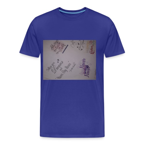 Words of courage - Men's Premium T-Shirt