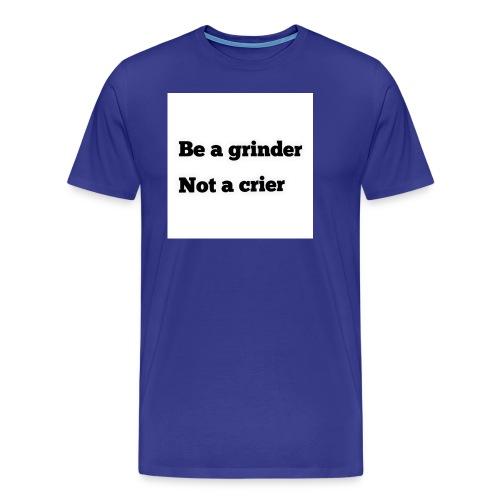 Grinder Line - Men's Premium T-Shirt