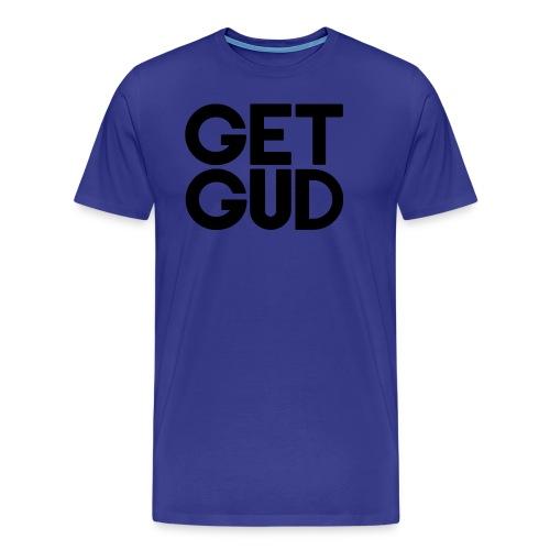 Get Gud Text - Men's Premium T-Shirt