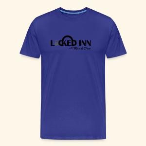 locked inn logo - Men's Premium T-Shirt