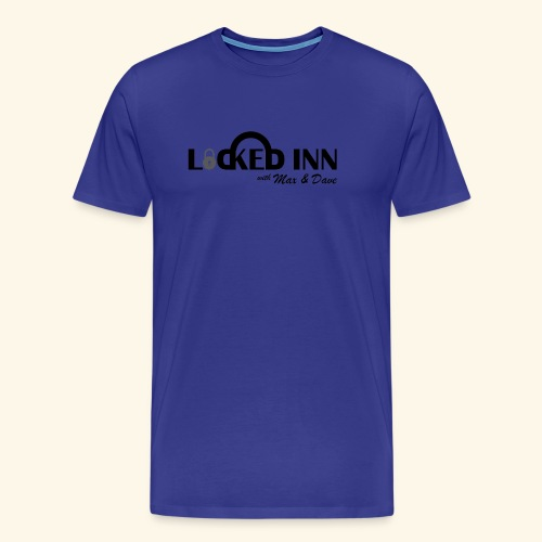 locked inn logo - Men's Premium T-Shirt