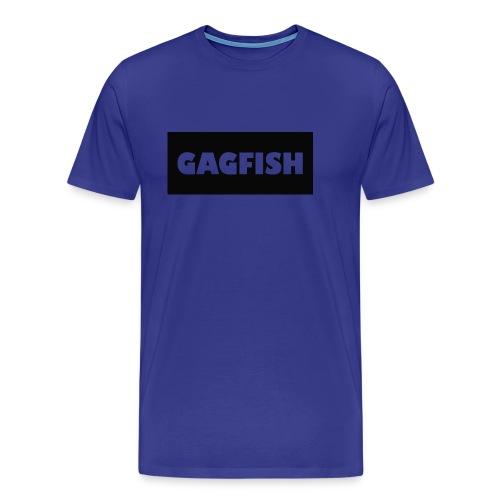 GAGFISH BLACK LOGO - Men's Premium T-Shirt