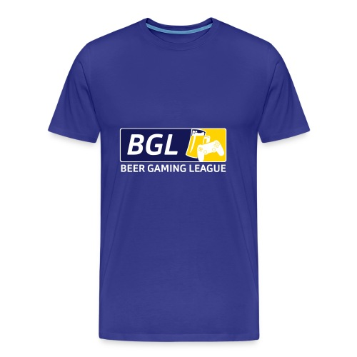 Mens Official Beer Gaming League Shirt - Men's Premium T-Shirt
