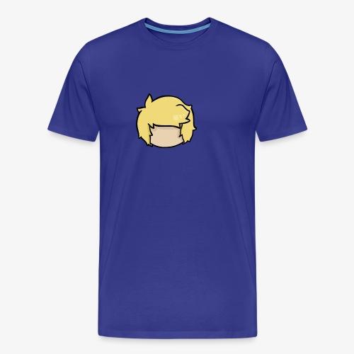 head outline - Men's Premium T-Shirt