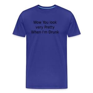 prettywhendrunk - Men's Premium T-Shirt