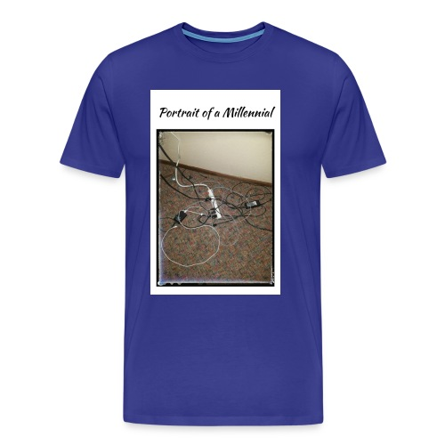 Portrait of a Millennial - Men's Premium T-Shirt