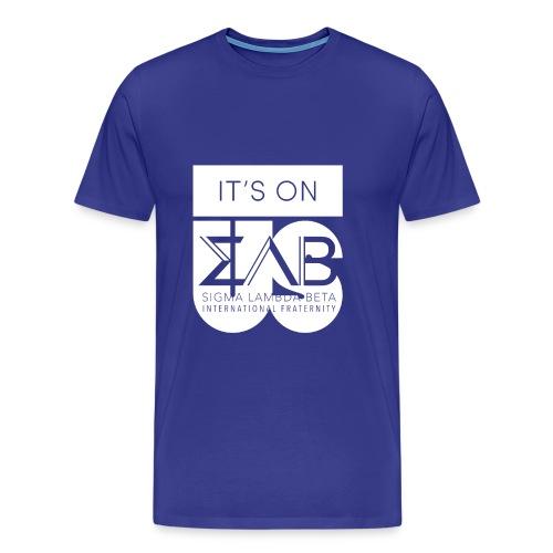Its On Betas White - Men's Premium T-Shirt