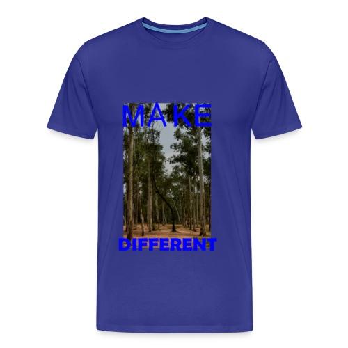 Make different2 - Men's Premium T-Shirt