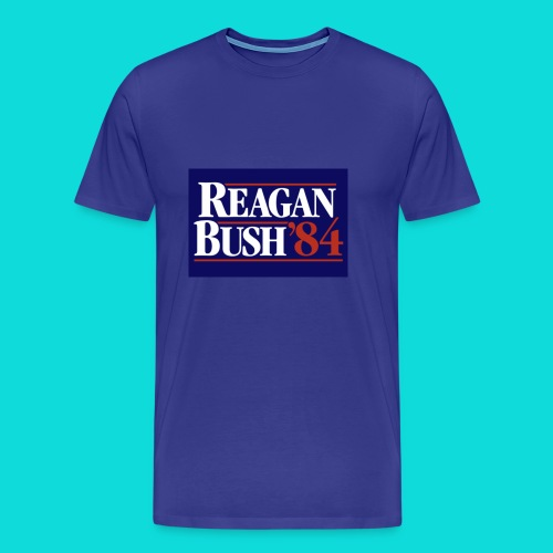 Reagan Bush - Men's Premium T-Shirt