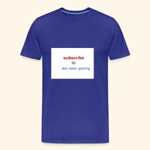 subscribe shirt - Men's Premium T-Shirt