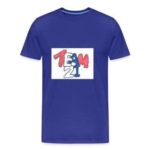 team 21 the best - Men's Premium T-Shirt