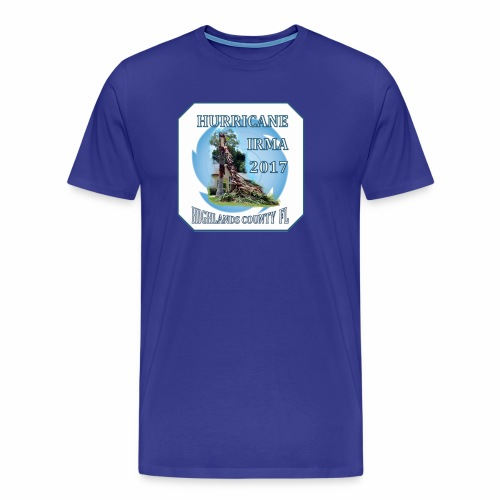 HIGHLANDS COUNTY FL HURRICANE IRMA - Men's Premium T-Shirt