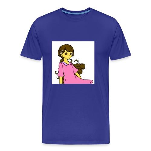 Nice cute girl - Men's Premium T-Shirt