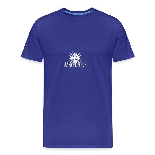 Danger zone - T-shirt premium pour hommes