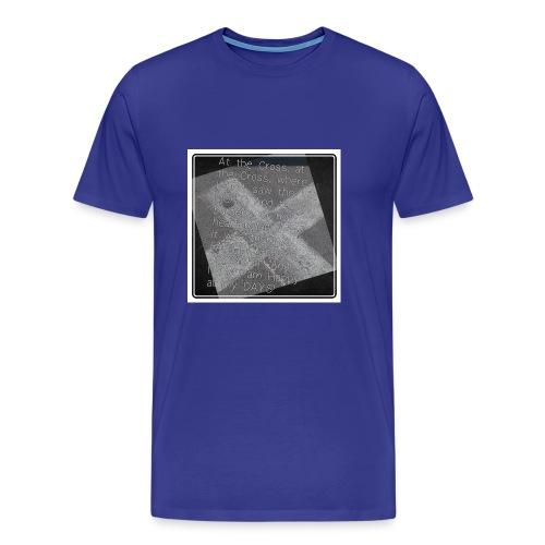 At the Cross - Men's Premium T-Shirt
