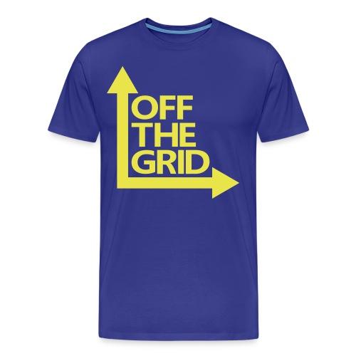 OFF THE GRID - Men's Premium T-Shirt