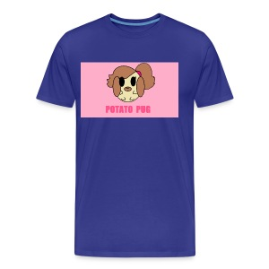 Potato Pug - Men's Premium T-Shirt