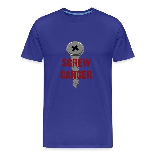 Screw Cancer - Men's Premium T-Shirt