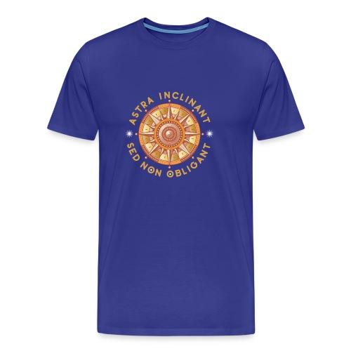 Astra inclinant, sed non obligant - Men's Premium T-Shirt