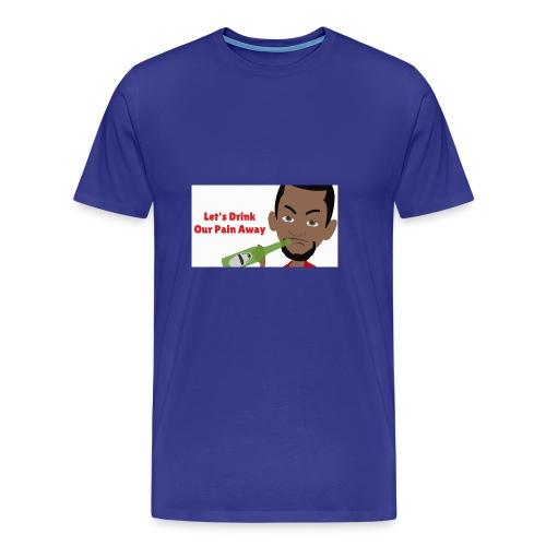Drink Your Pain Away - Men's Premium T-Shirt